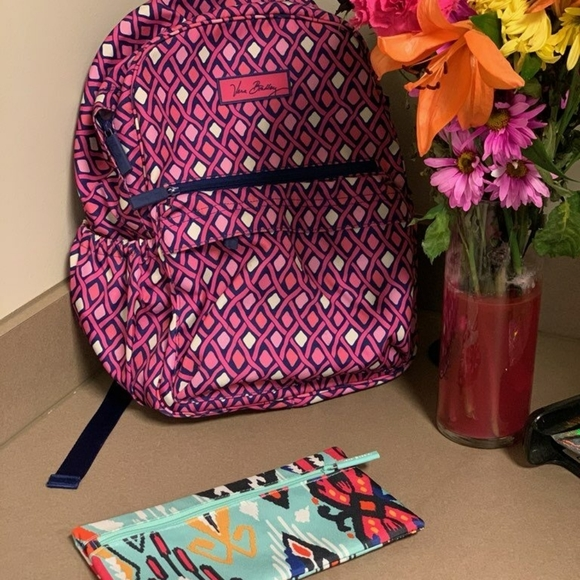Vera Bradley backpack and pencil case